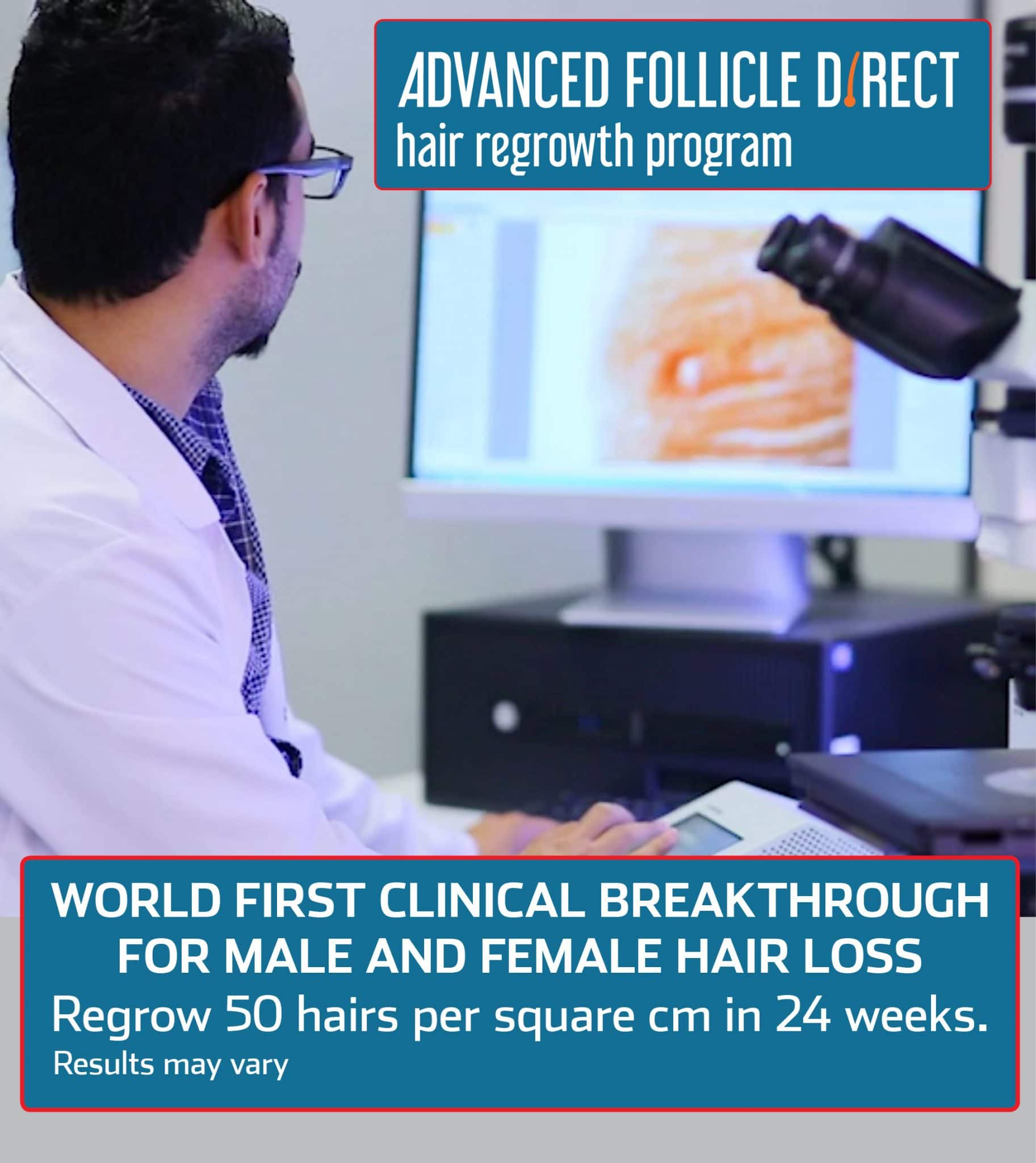 Advanced Follicle Direct Hair Regrowth Program